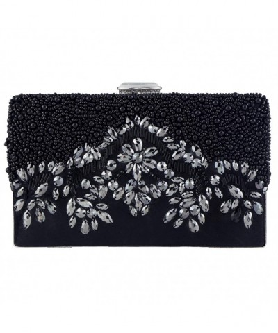 Bagood Handmade Embroidery Crystal Shoulder