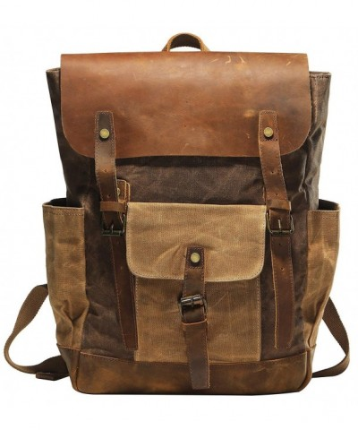 Vintage Backpack Craftsmanship All Purpose Rucksack