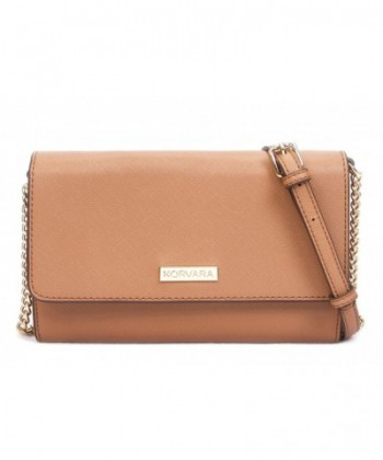 Korvara Crossbody Wallet Detachable Strap
