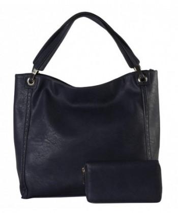 Rimen Leather Accented Handbag SD 3619