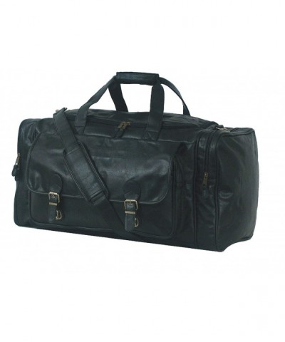 Simulated Leather Large Club Bag