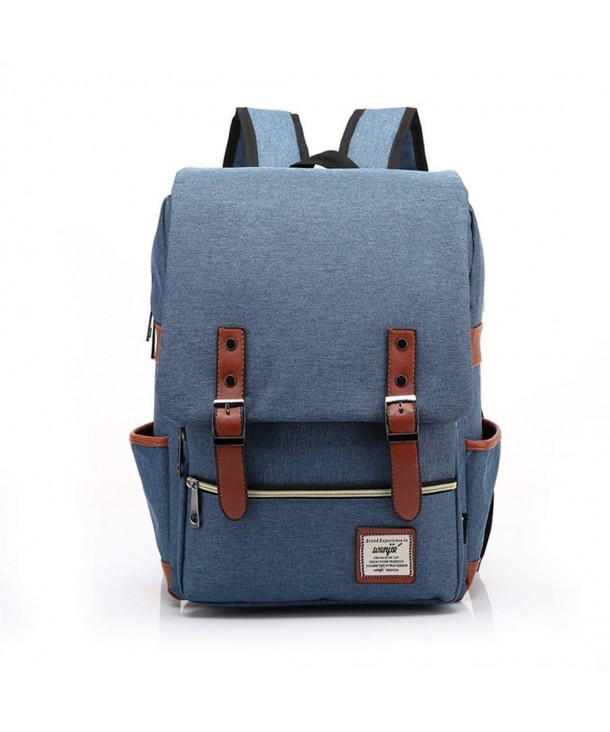 Fankeshi Vintage Laptop Backpack College