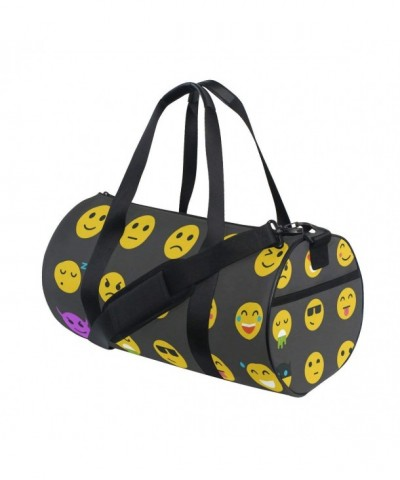 Naanle Yellow Smiley Sports Travel