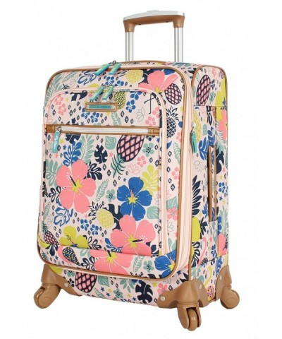 Lily Bloom Expandable Suitcase Pineapple x