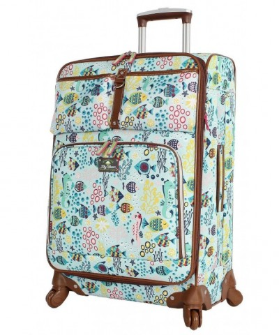 Lily Bloom Expandable Suitcase Aquarium x