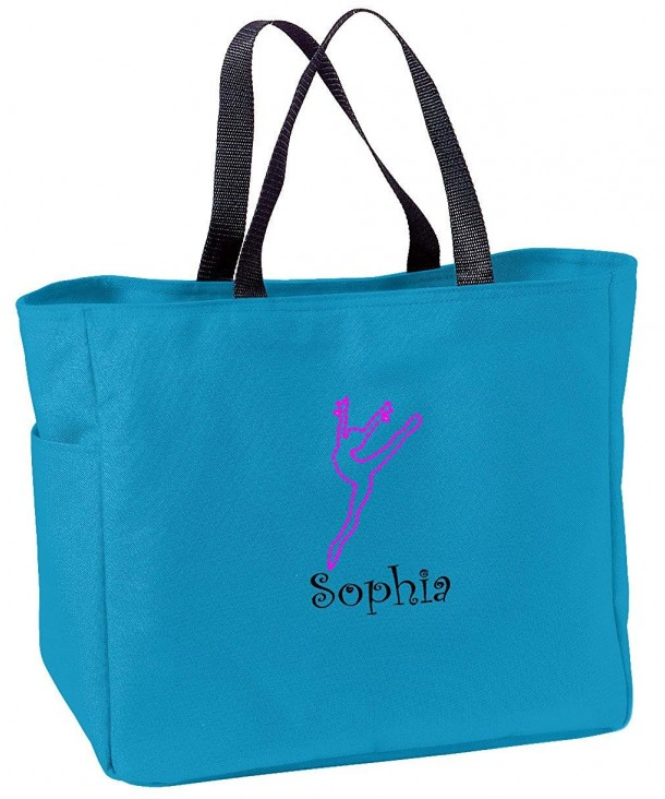 Personalized Embroidered Dance Essential Turquoise