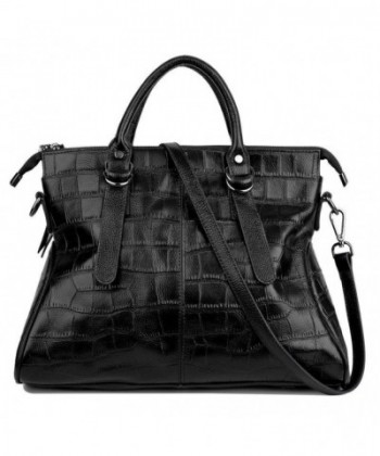 YALUXE Bidirectional Pattern Leather Shoulder