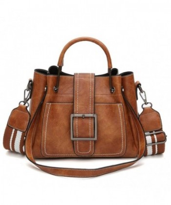 Kimloog Leather Shoulder Purpose Handbags