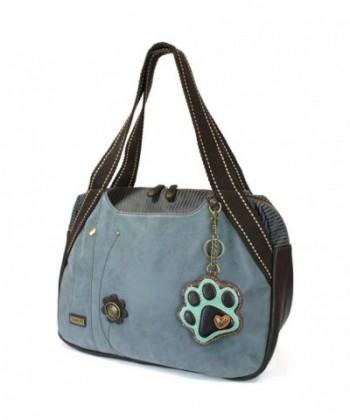 Chala Large Bowling purse Indigo