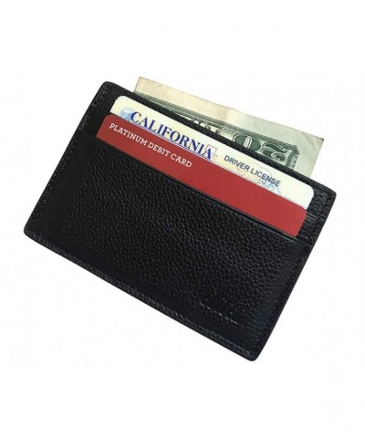 elites Premium Leather Credit Holder