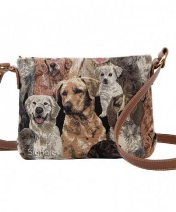 Signare Tapestry Crossbody Shoulder Labrador