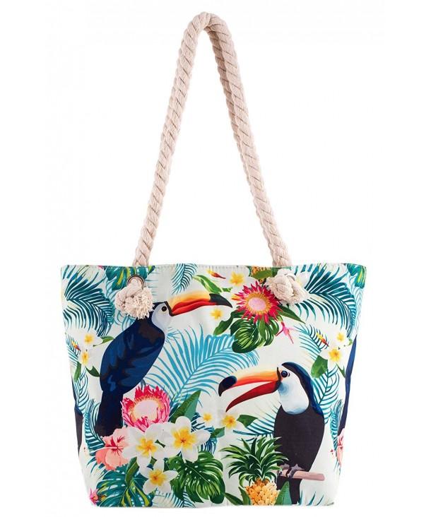 Rave Envy Tote Bag Toucan