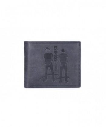 CLIVIO Genuine Leather Blocking Fashion