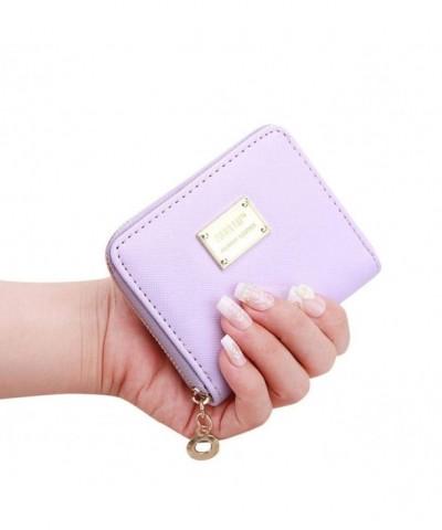 Hemlock Clutch Wallet Holder Purple