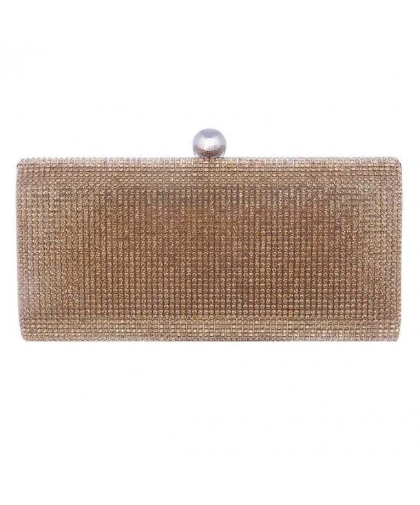 Damara Womens Dazzling Crystal Handbag