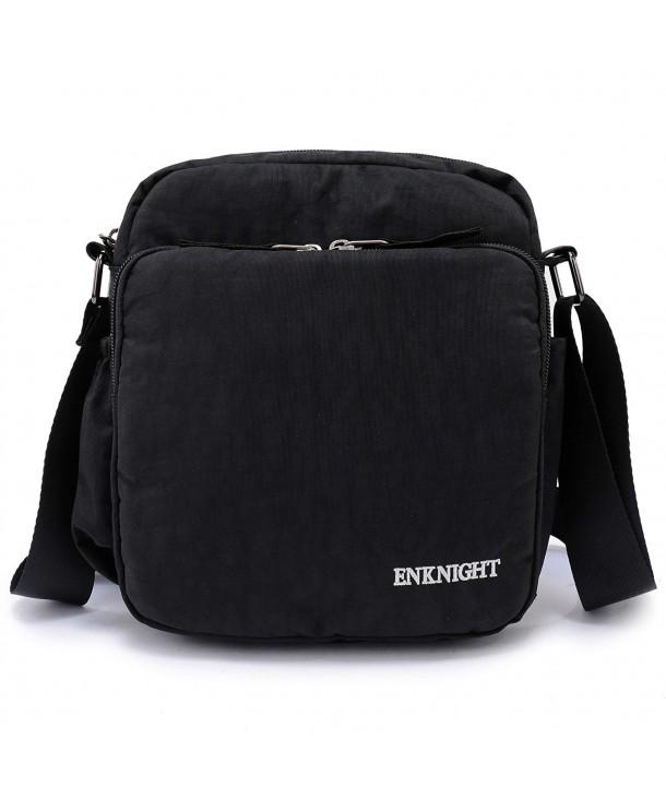 Rfid Travel Crossbody Bag Waterproof Nylon Shoulder Purse Women Handbag Black S Cc184k69y7u