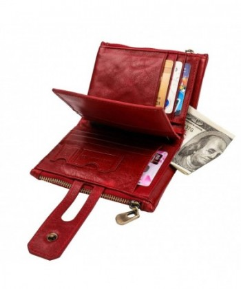 RFID Wallet Mens Genuine Leather
