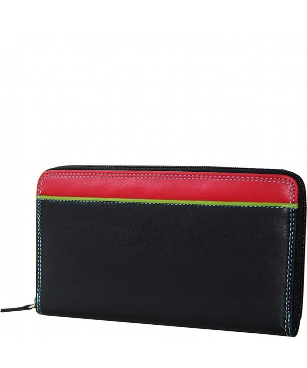 BelArno Clutch Black Rainbow Combination