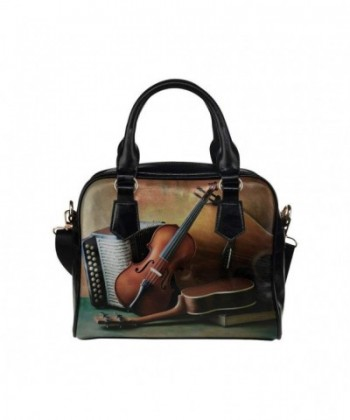 InterestPrint Musical Instrument Shoulder Handbag