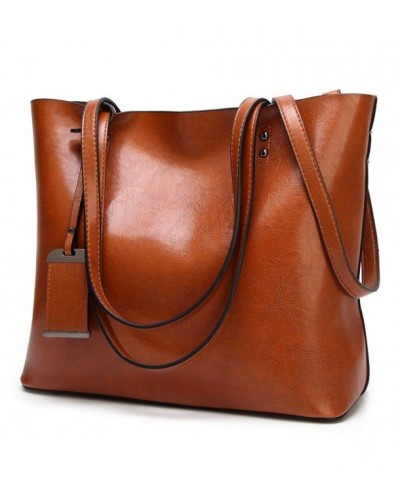 Amyhui Ladies Leather Handbags Shoulder