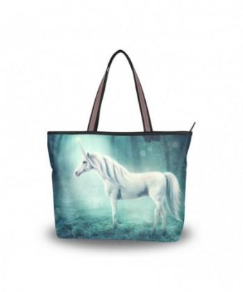 JSTEL Handle Shoulder Unicorn Handbag