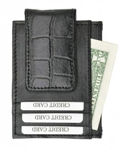 Crocodile Front Pocket Wallet Money