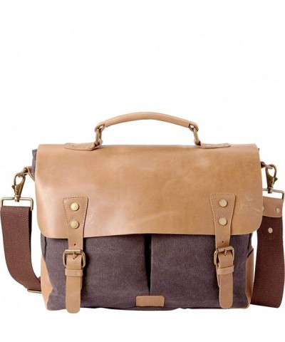 Vagabond Traveler Cowhide Leather Messenger