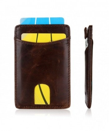 Pocket Wallet Genuine Leather Credit
