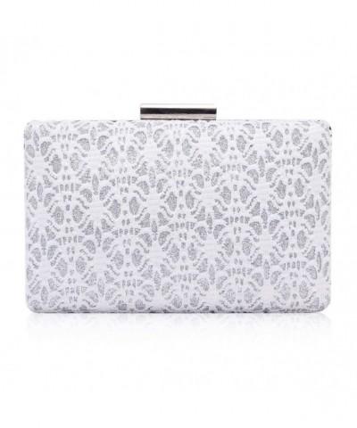 Damara Elegance Metallic Evening Handbag