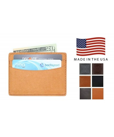 Genuine Leather Front Pocket Wallet