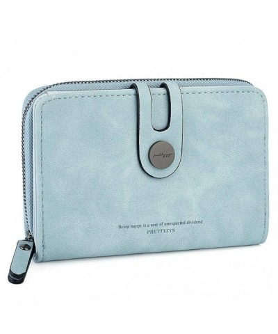 UTO Womens Leather Wallet Closure
