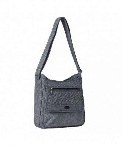 Lug Hopscotch Heather Grey Shoulder