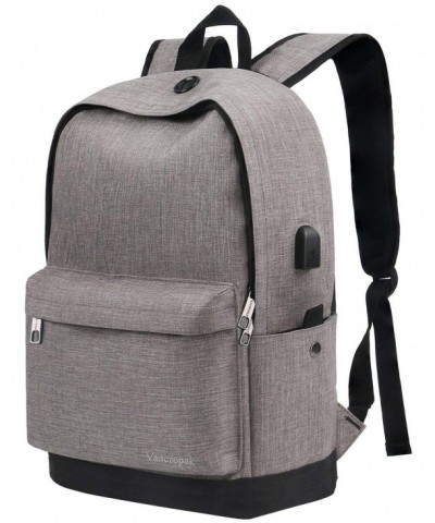 Vancropak Backpack Charging Notebook Essentials