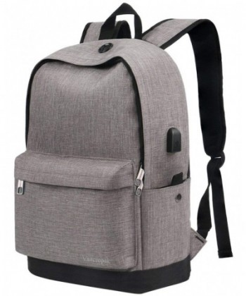 Vancropak Backpack Charging Notebook Essentials