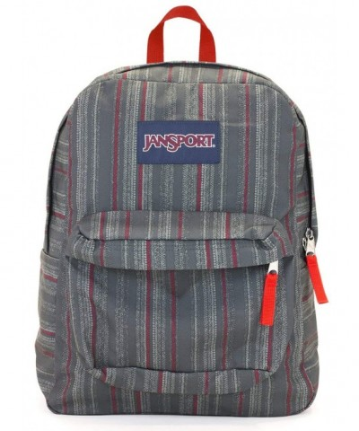 Jansport Superbreak Backpack tape stripe