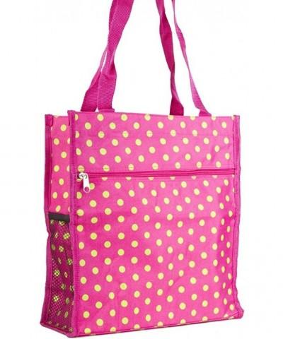 Pink Green Polka Dots Travel