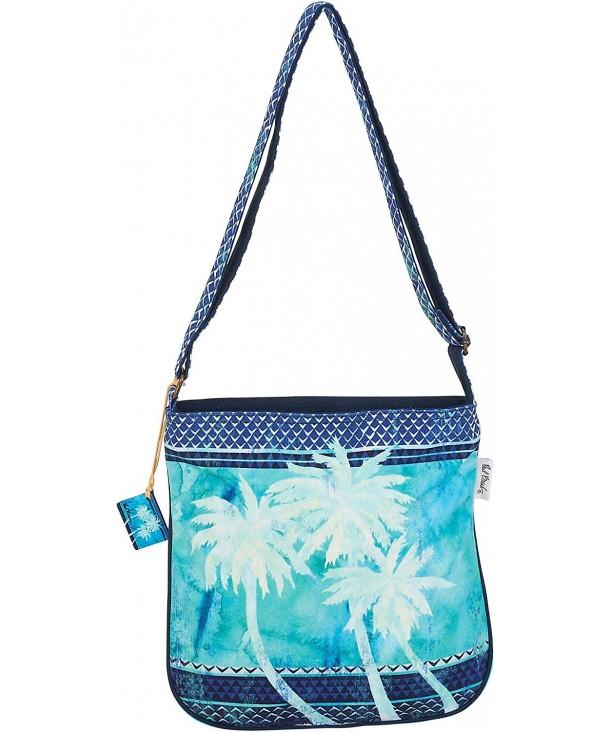 Paul Brent Palm Crossbody Handbag