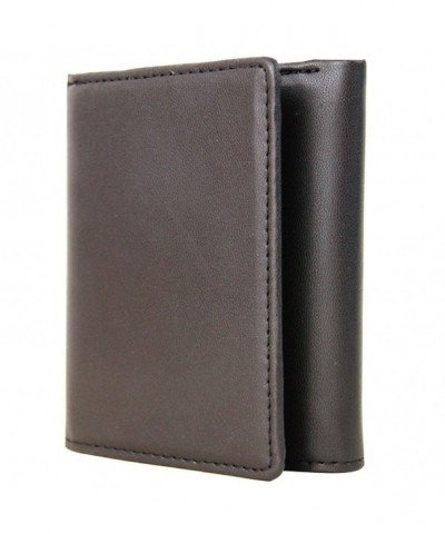 RFID Blocking Wallet Trifold Leather