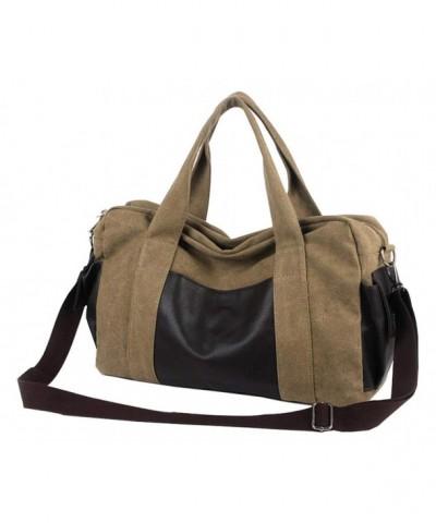 Overnight Canvas Weekend Shoulder Handbag