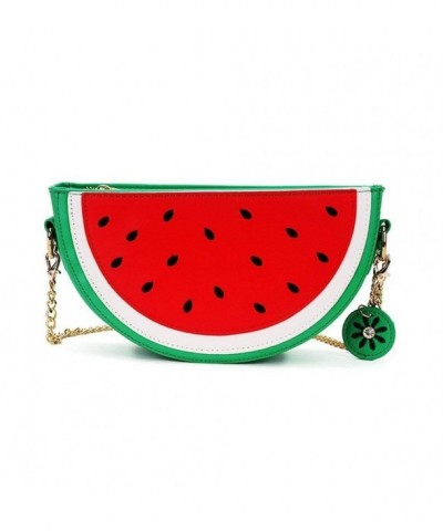 Watermelon Shoulder Baguboo Crossbody Purse