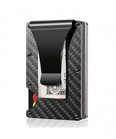 Carbon Fiber Aluminum Minimalist Wallet