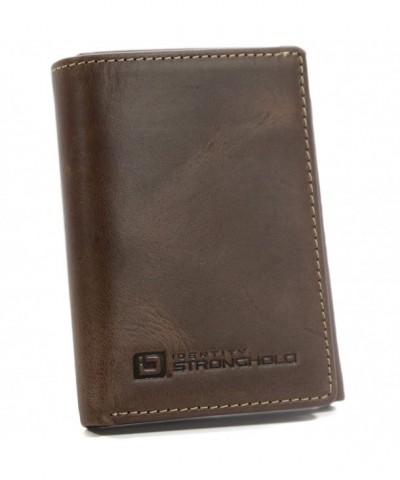 Genuine Leather Trifold Protection Throughout