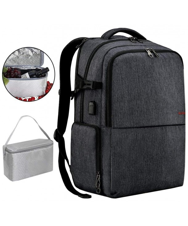 Backpack Waterproof Charging Independent Compartment